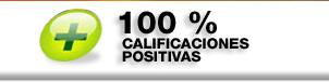 100% calificaciones positivas